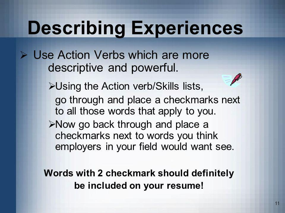 successful resume strategies
