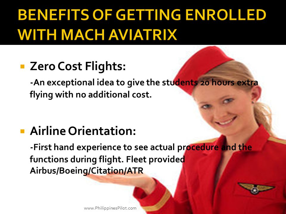 BENEFITS OF GETTING ENROLLED WITH MACH AVIATRIX