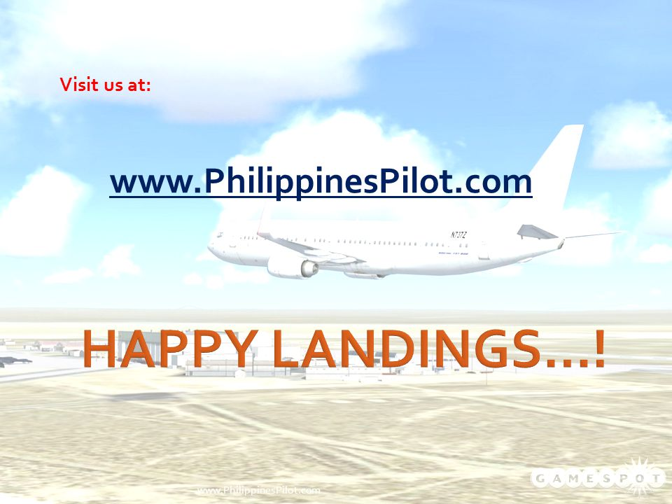 Visit us at: www.PhilippinesPilot.com