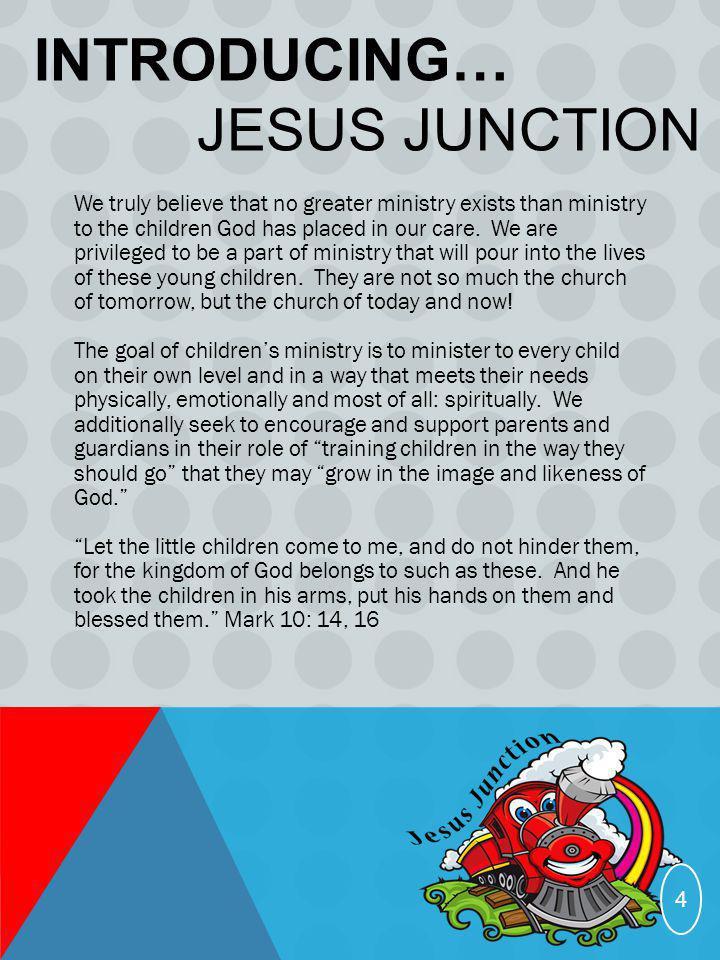 Introducing… Jesus Junction