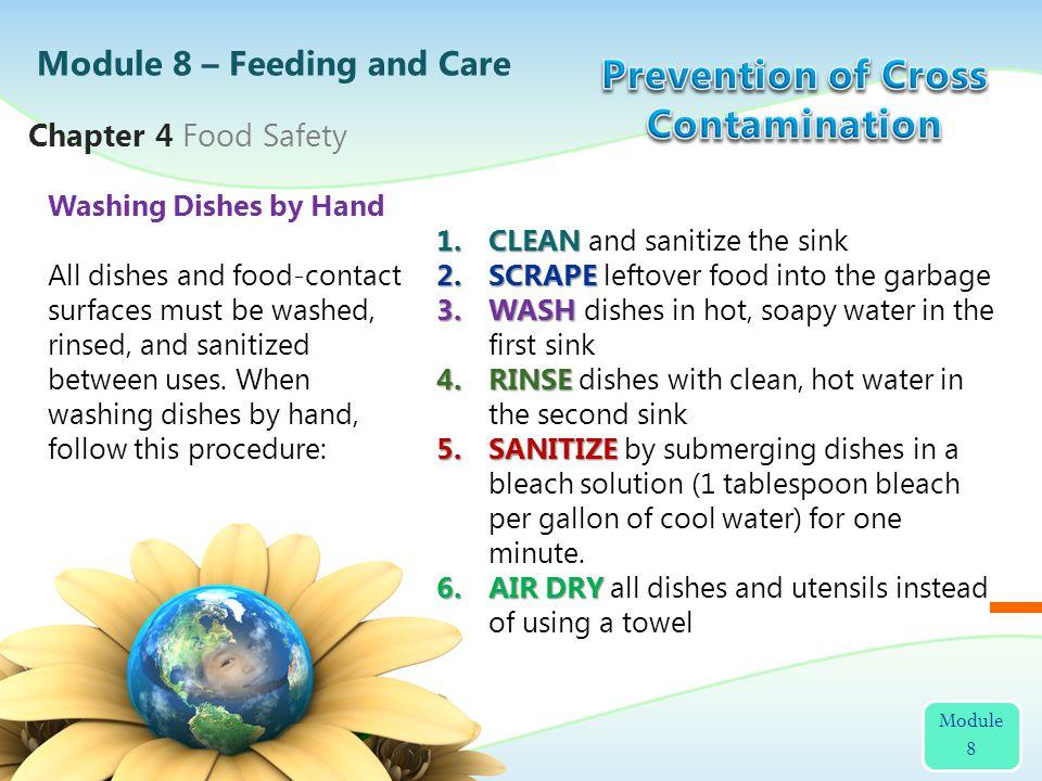 Prevention of Cross Contamination