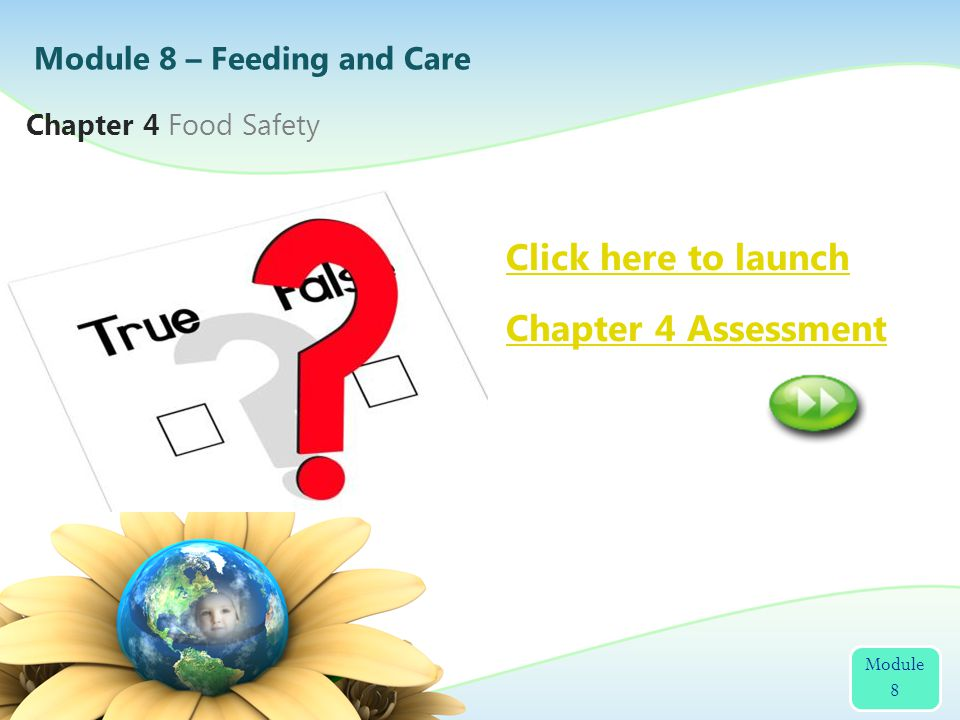 2 Click here to launch Chapter 4 Assessment