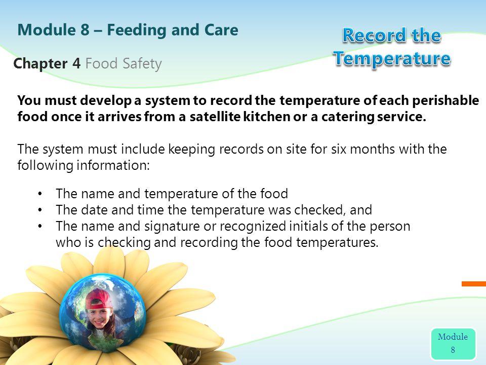 Record the Temperature
