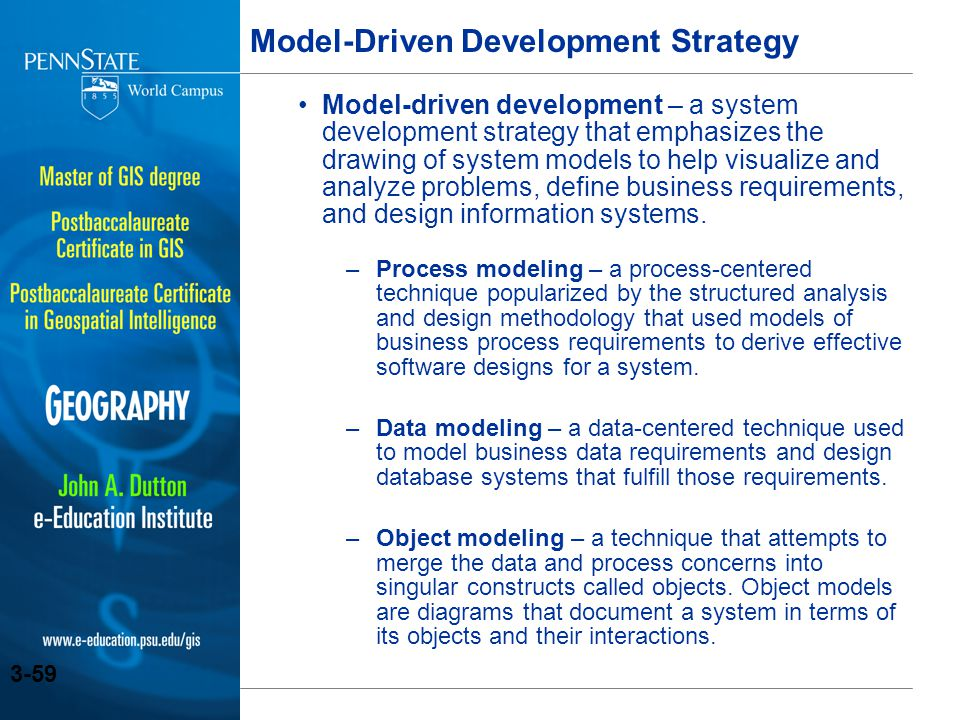 Model-Driven Development Strategy