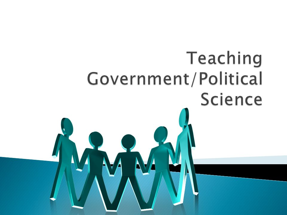 Teaching Government/Political Science
