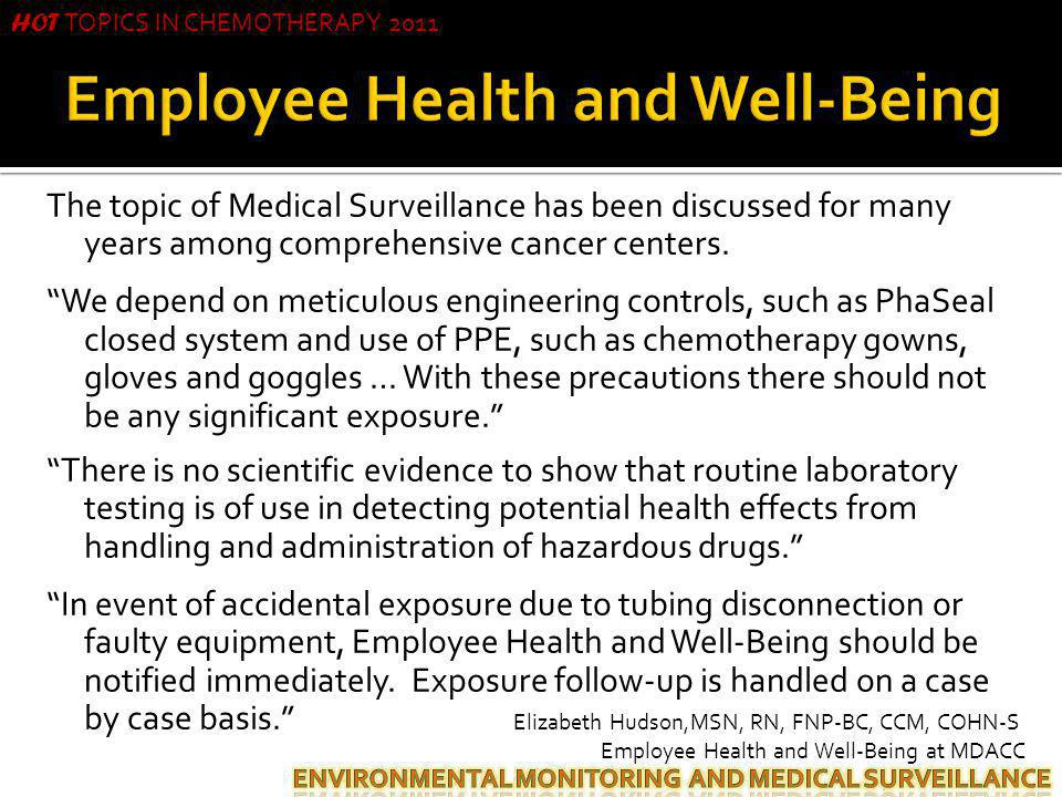 Employee Health and Well-Being