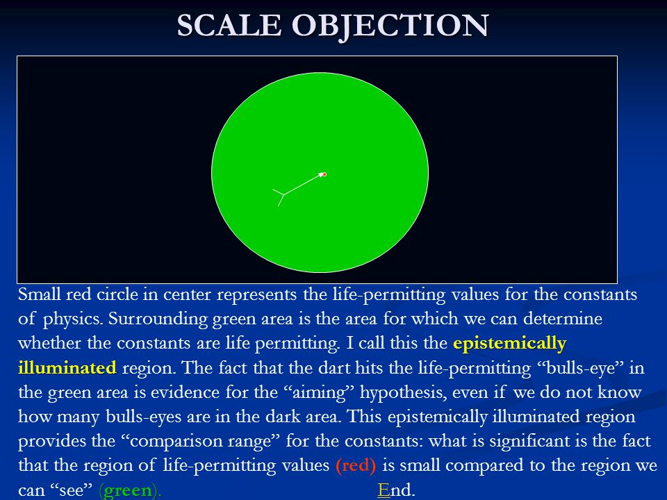 SCALE OBJECTION