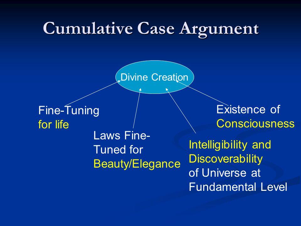 Cumulative Case Argument