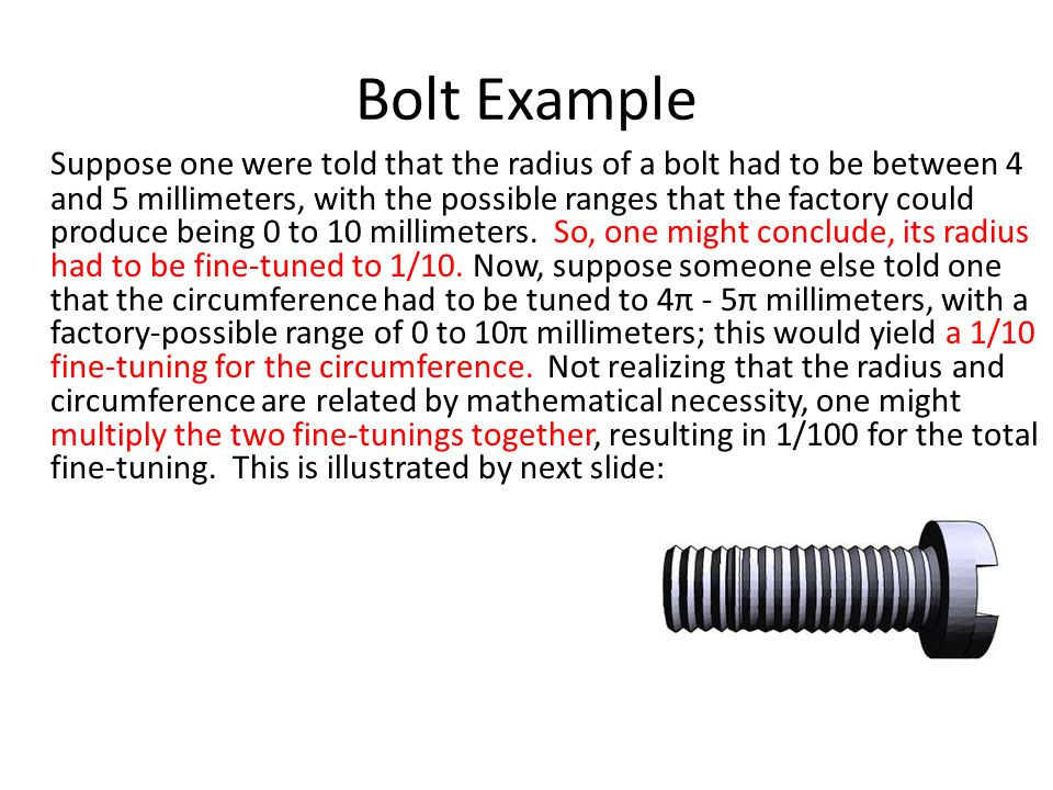 Bolt Example