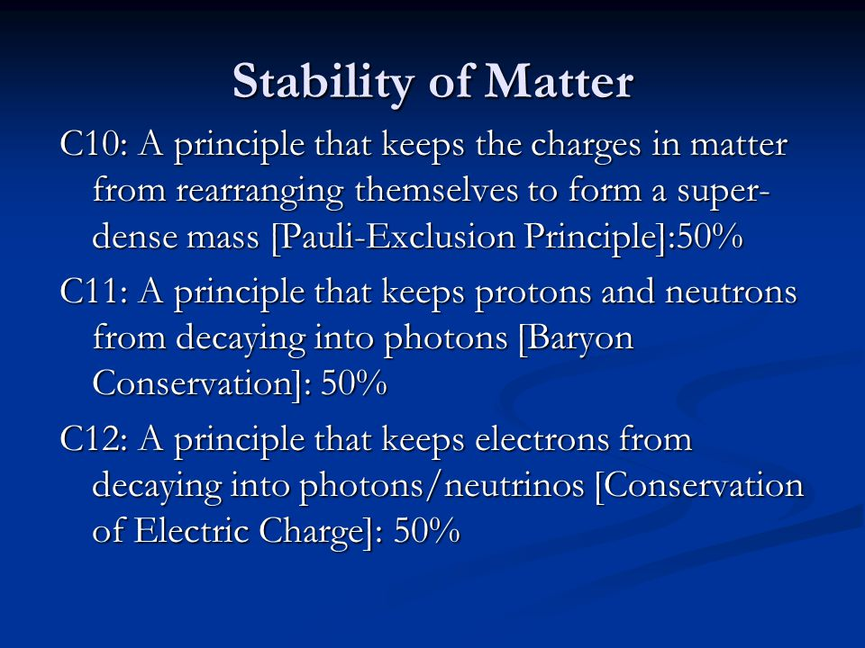 Stability of Matter