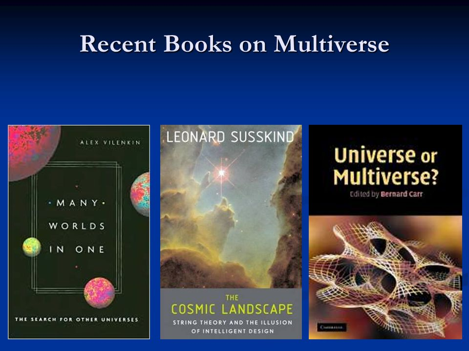 Recent Books on Multiverse