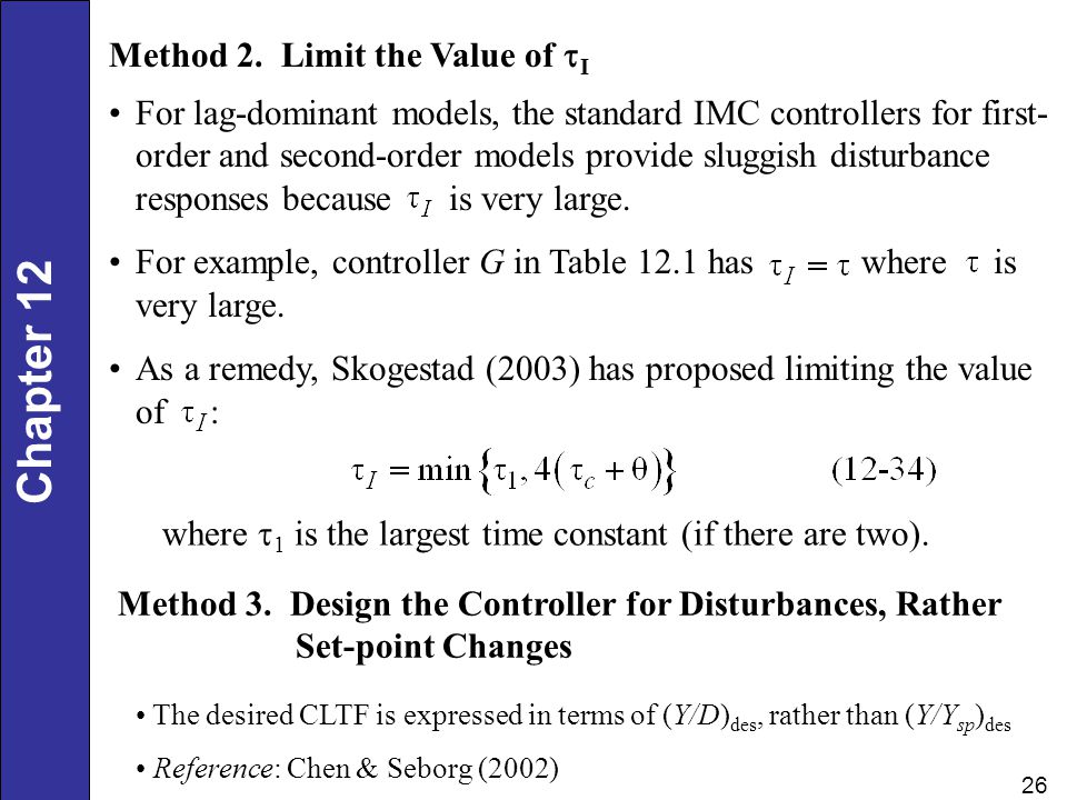 Method 2. Limit the Value of tI