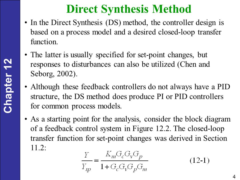 Direct Synthesis Method