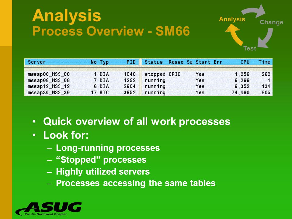 Analysis Process Overview - SM66