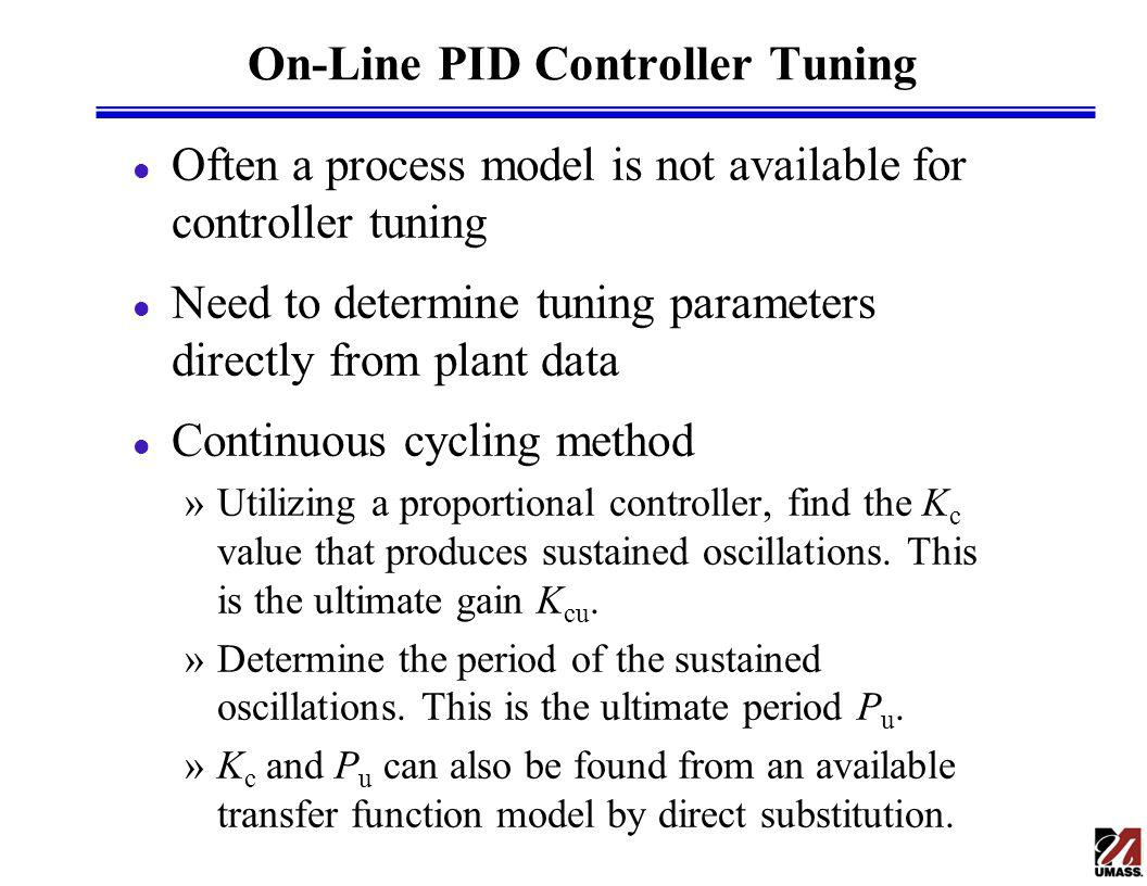 On-Line PID Controller Tuning