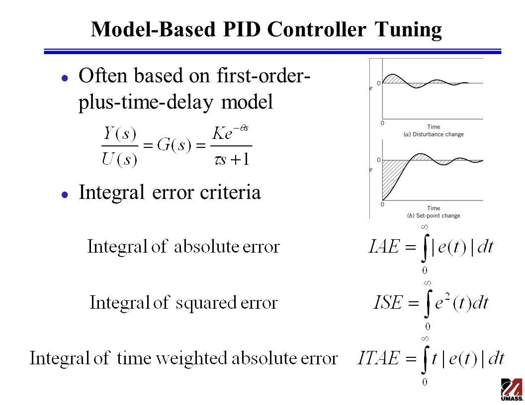 Model-Based PID Controller Tuning