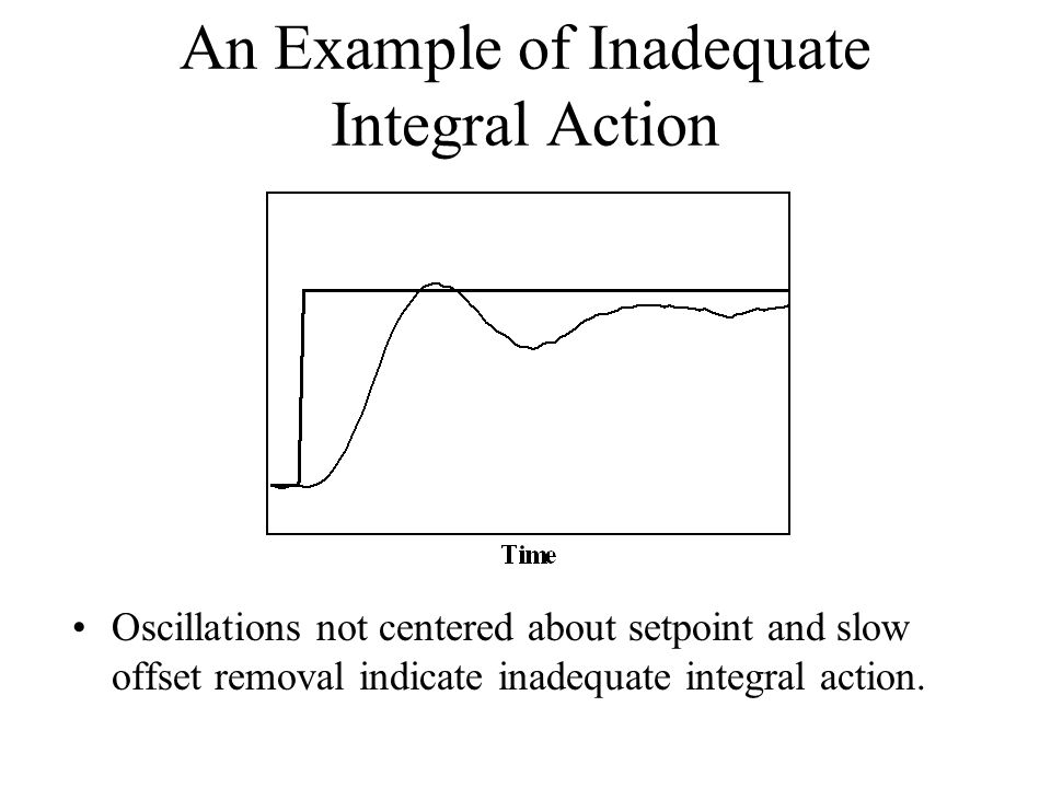 An Example of Inadequate Integral Action