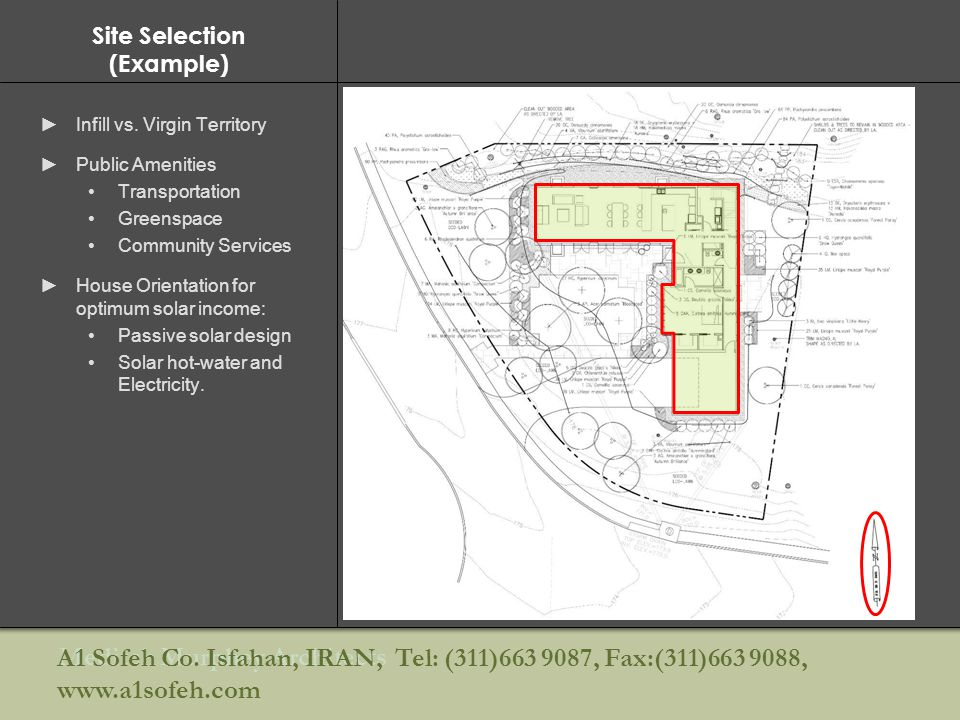 Site Selection (Example)