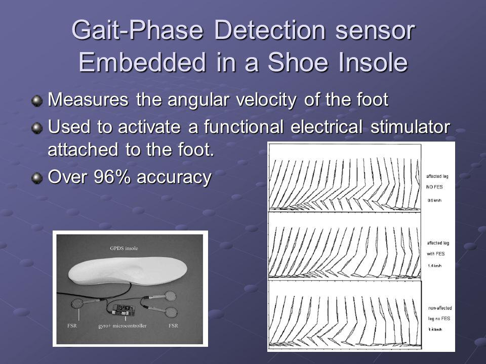Gait-Phase Detection sensor Embedded in a Shoe Insole