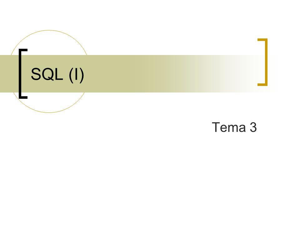 SQL (I) Tema 3