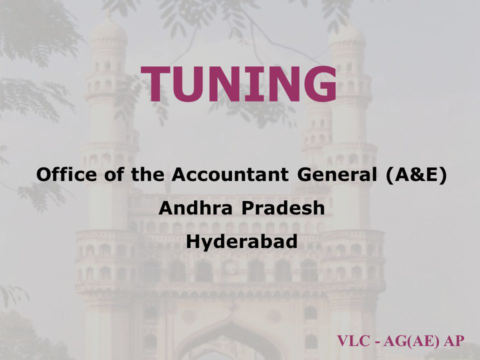 Office of the Accountant General (A&E) Andhra Pradesh Hyderabad