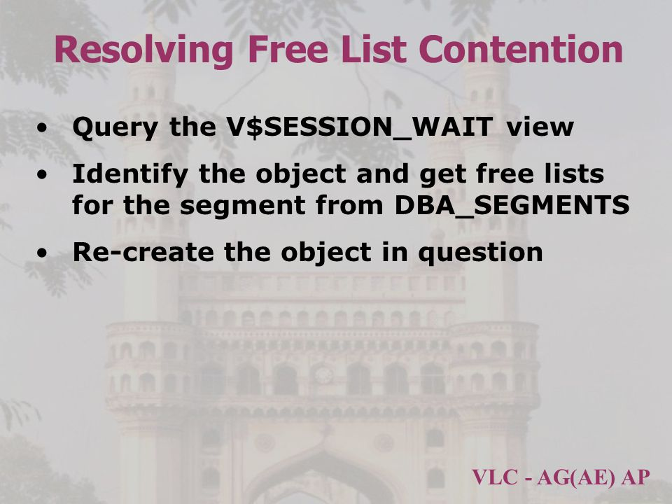 Resolving Free List Contention