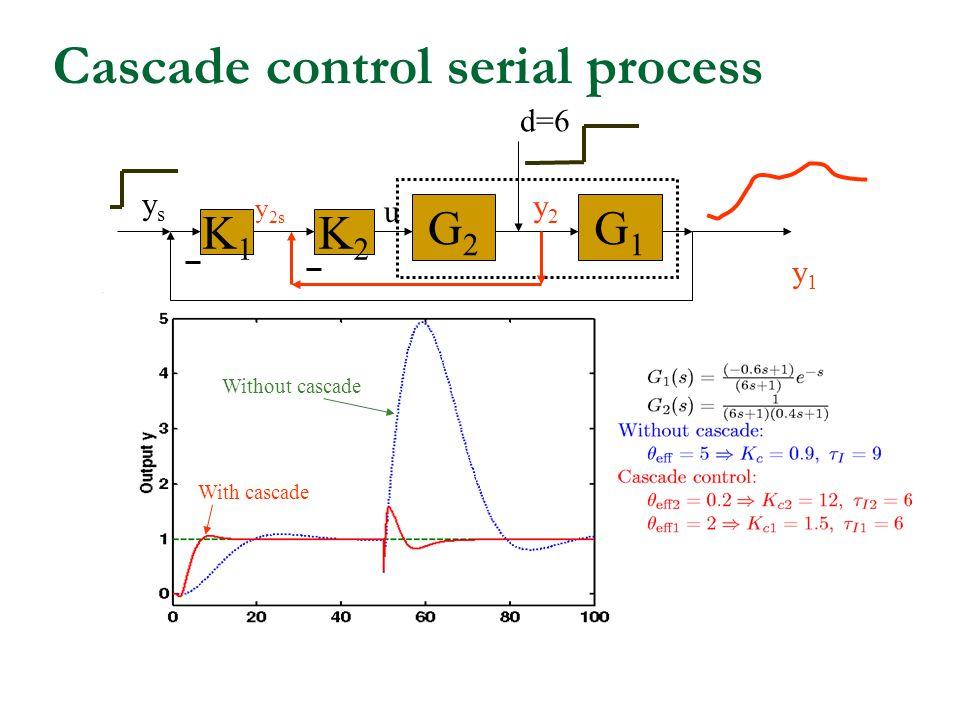 Cascade control serial process