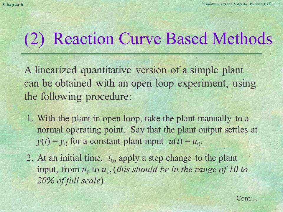 (2) Reaction Curve Based Methods