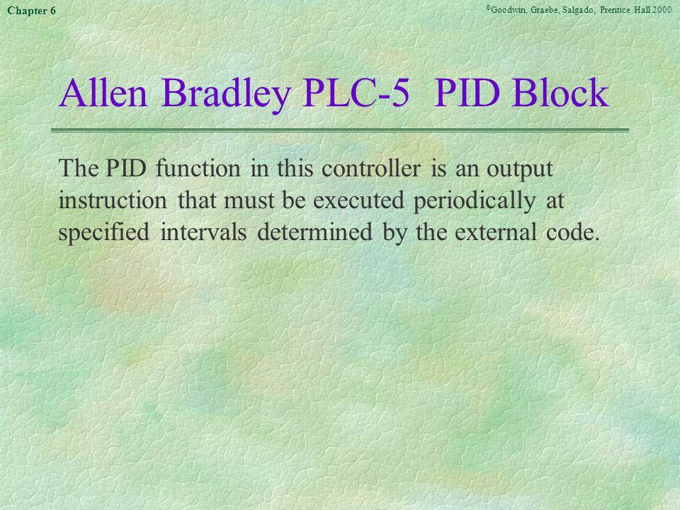 Allen Bradley PLC-5 PID Block