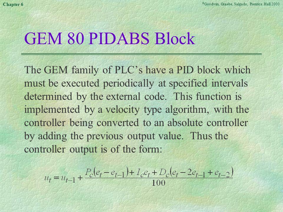 GEM 80 PIDABS Block