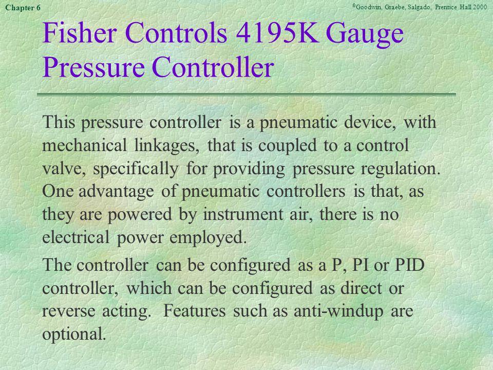 Fisher Controls 4195K Gauge Pressure Controller