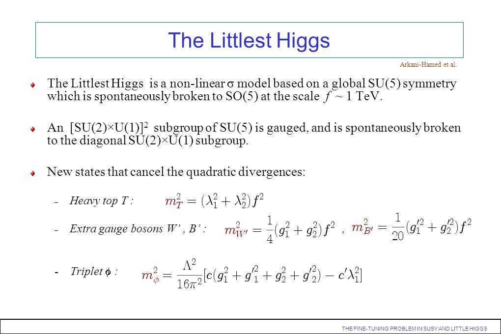 The Littlest Higgs Arkani-Hamed et al.