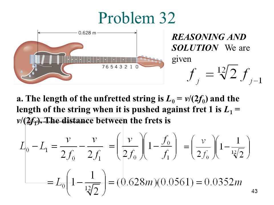 Problem 32 REASONING AND SOLUTION We are given