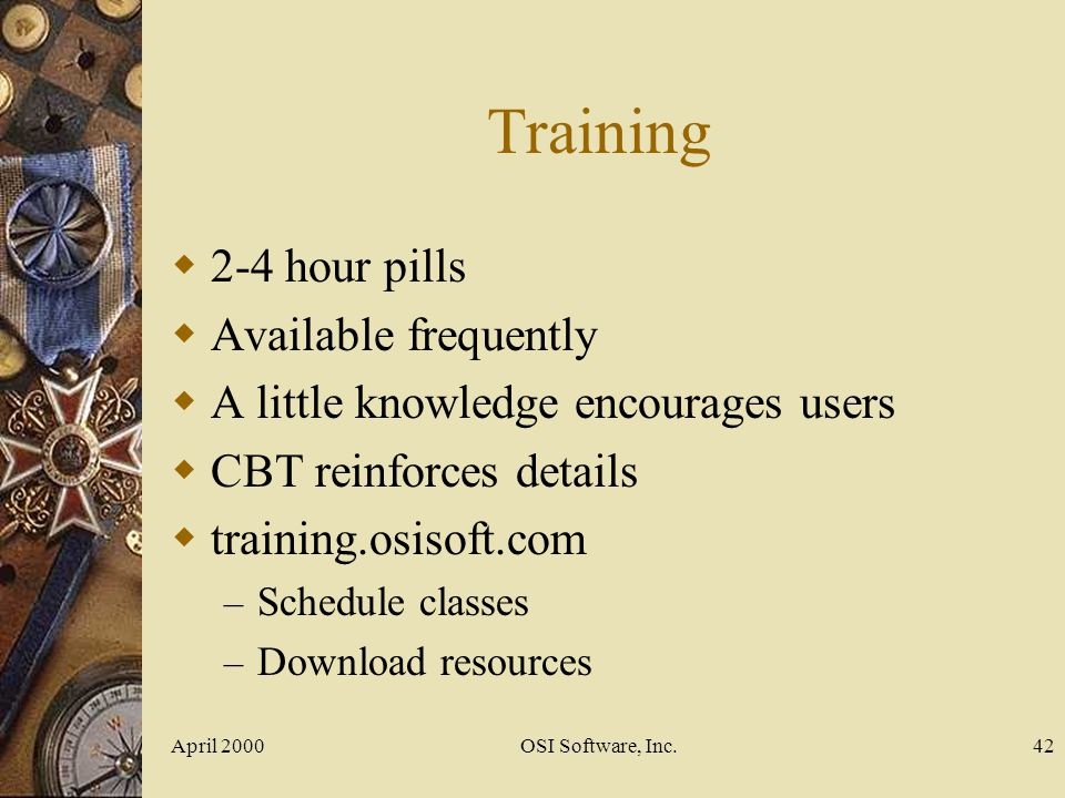 Training 2-4 hour pills Available frequently