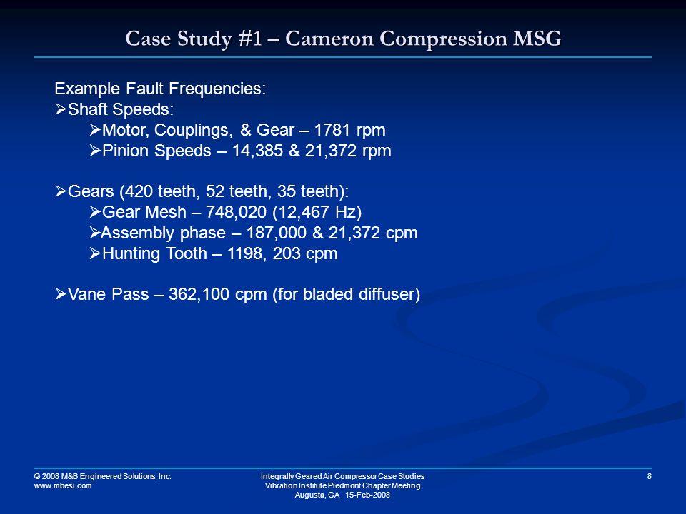 Case Study #1 – Cameron Compression MSG