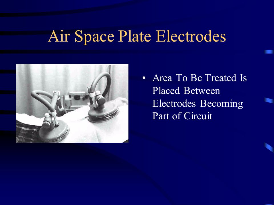 Air Space Plate Electrodes