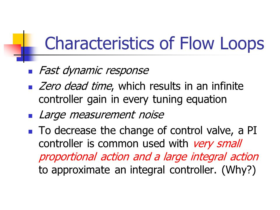 Characteristics of Flow Loops