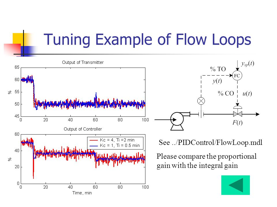 Tuning Example of Flow Loops