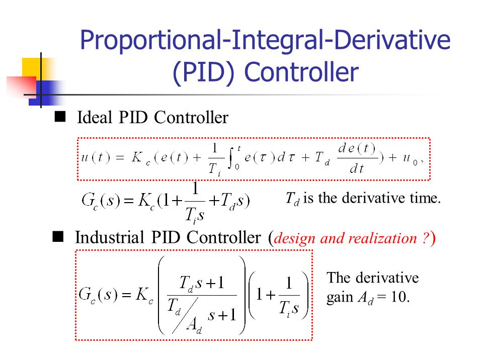 Proportional-Integral-Derivative (PID) Controller