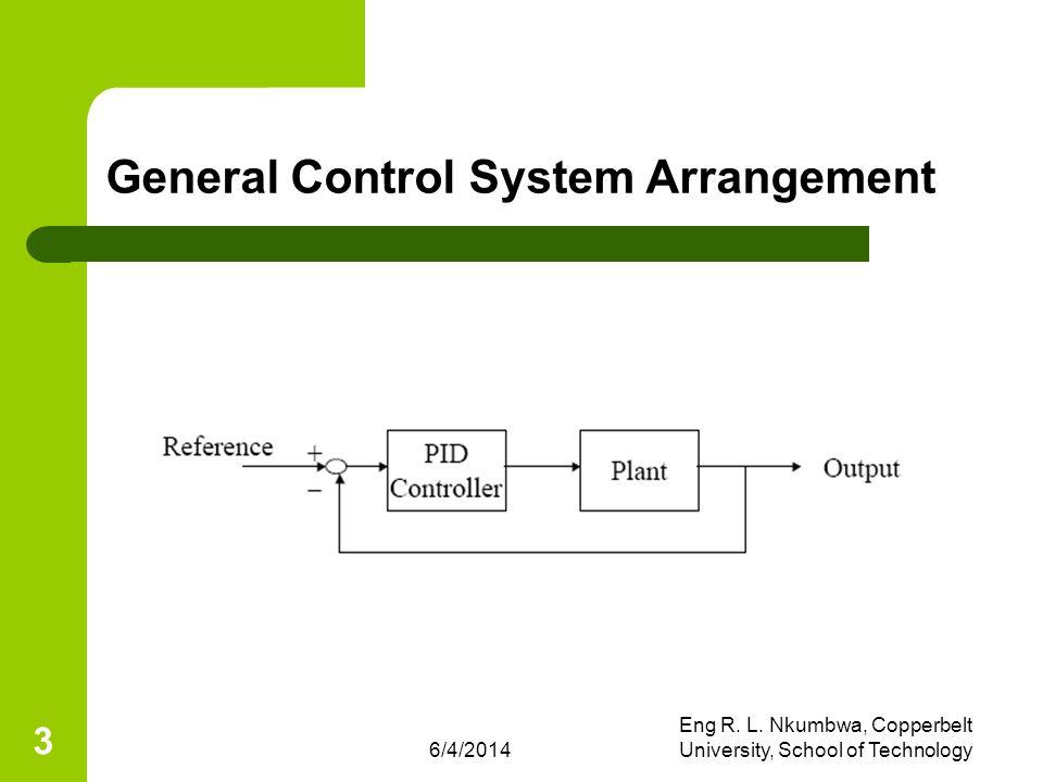 General Control System Arrangement