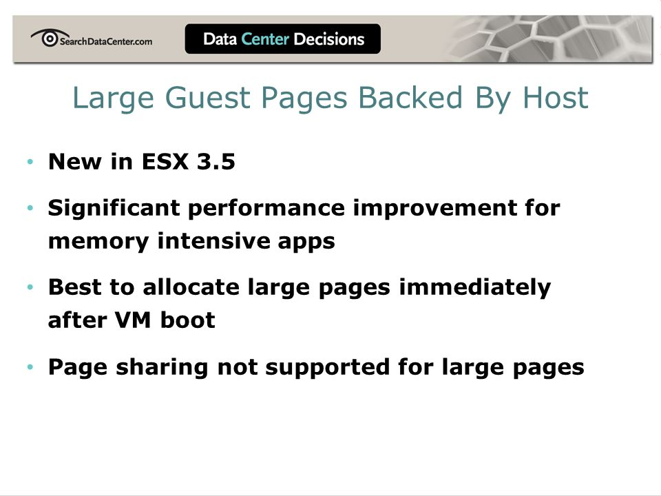 Large Guest Pages Backed By Host