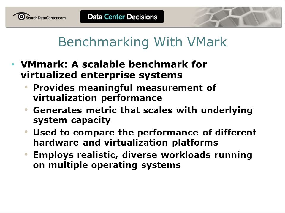 Benchmarking With VMark