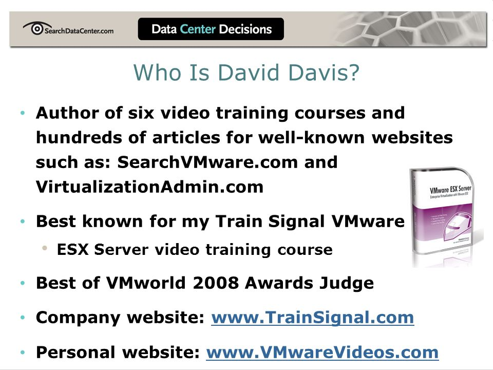 Who Is David Davis