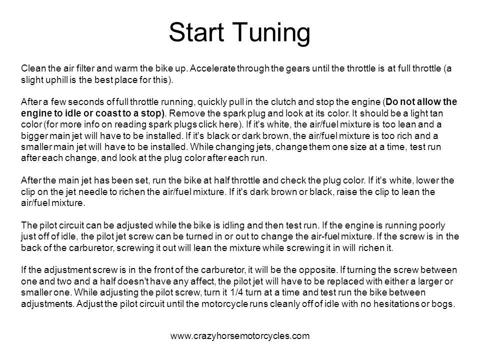 Start Tuning
