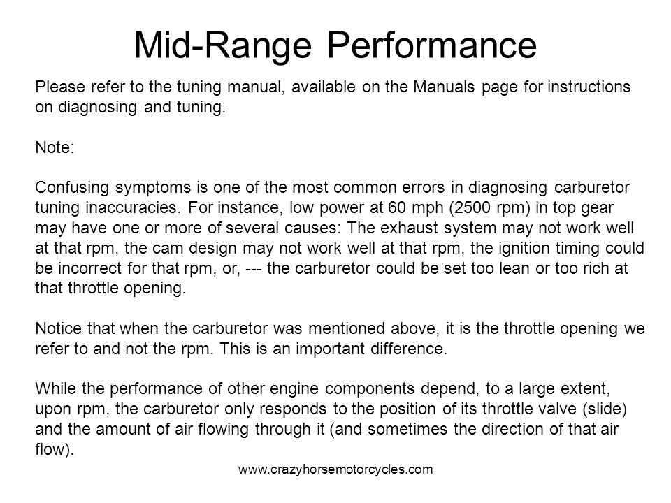 Mid-Range Performance