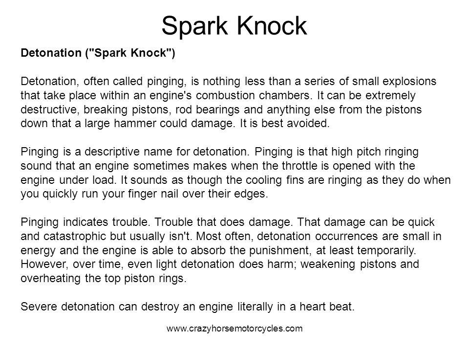 Spark Knock