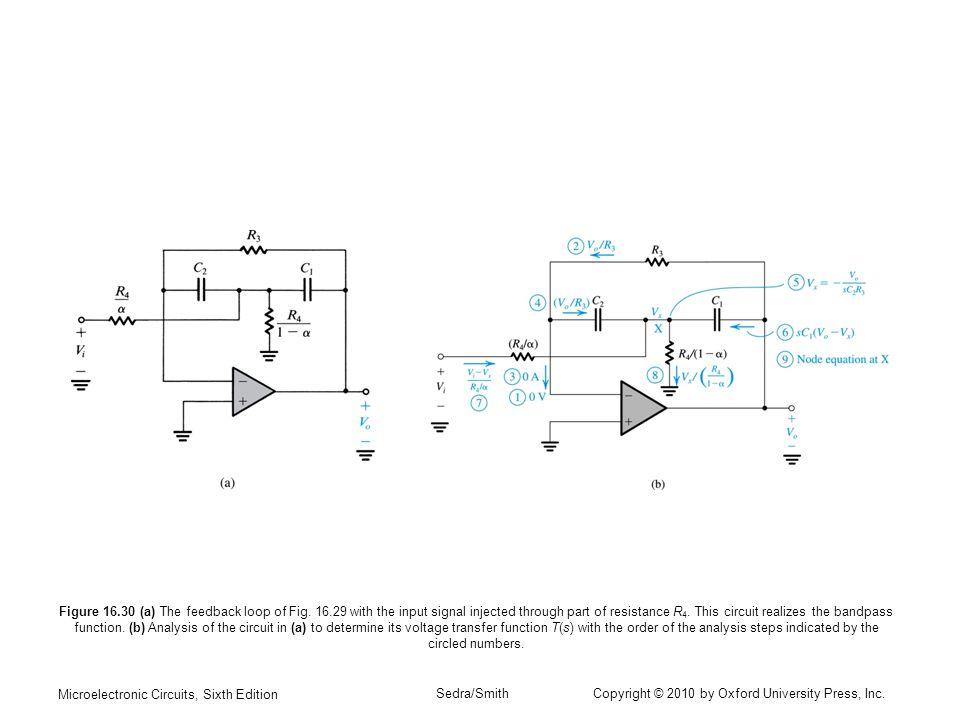 Figure 16. 30 (a) The feedback loop of Fig. 16