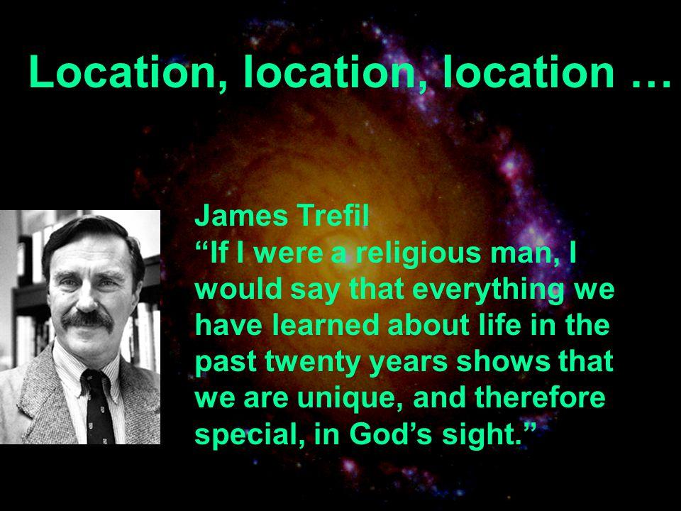 Location, location, location …