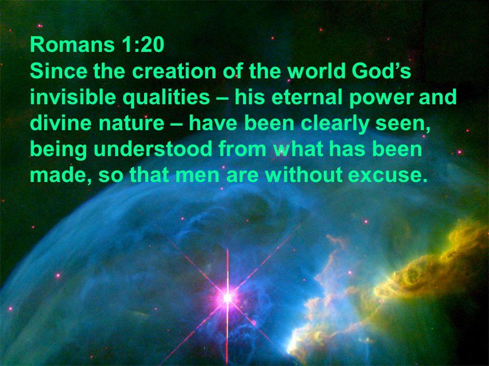 Romans 1:20