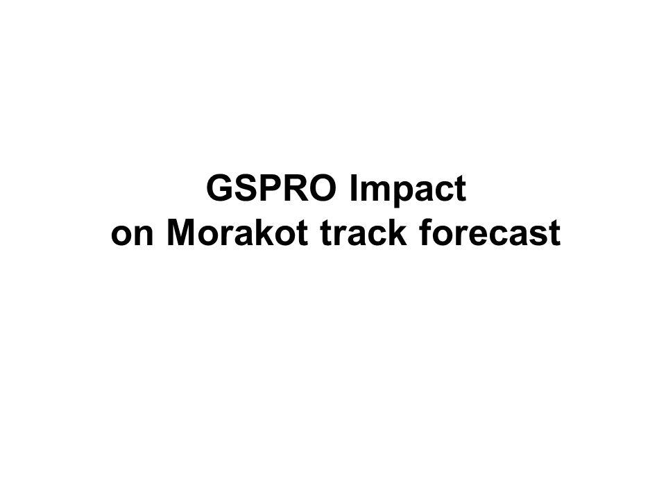 on Morakot track forecast